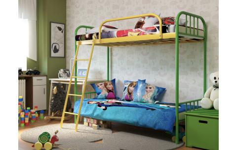 Металлическая двухъярусная кровать Bambo Duo/Бамбо Дуо Метакам