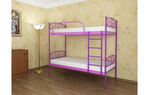 Двухъярусная металлическая кровать Verona Duo/Верона Дуо Метакам