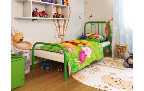 Металлическая односпальная кровать Bambo/Бамбо Метакам