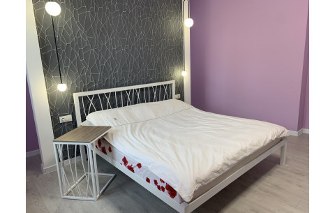 Металлическая кровать Бергамо 1 (Bergamo 1) Метакам