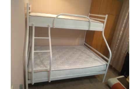 Двухъярусная металлическая кровать Smart/Смарт Метакам