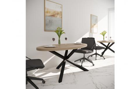 Обеденный стол Айрон  Металл Дизайн