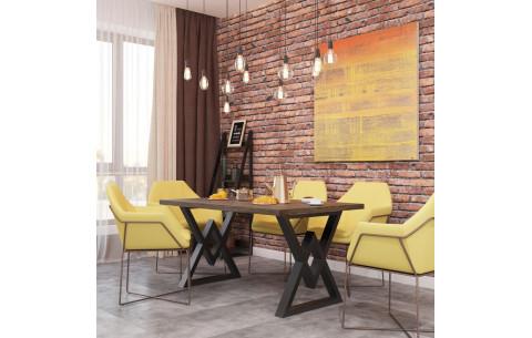 Обеденный стол Астон  Металл Дизайн