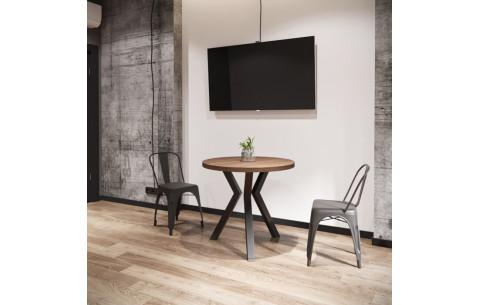 Обеденный стол Свен (3 ноги) Металл Дизайн