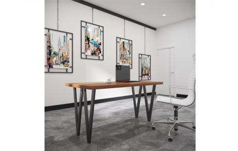 Обеденный стол Ви 4 ноги Металл Дизайн