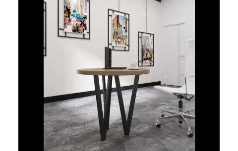 Обеденный стол Ви 3 ноги Металл Дизайн