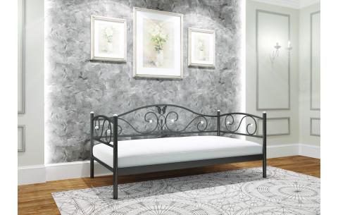 Металлическая односпальная кровать Анжелика Металл-Дизайн