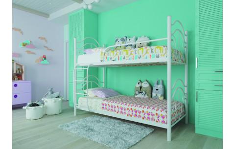 Двухъярусная металлическая кровать Диана Металл-Дизайн