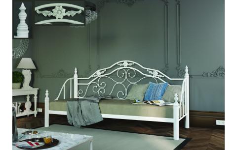 Диван-кровать Леон металлический на деревянных ножках  Металл-Дизайн