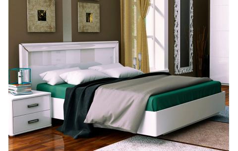 Кровать двуспальная Белла (без каркаса и матраса) MiroMark