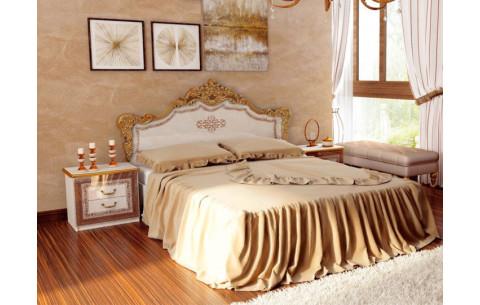 Кровать двуспальная Дженифер (без каркаса и матраса) MiroMark