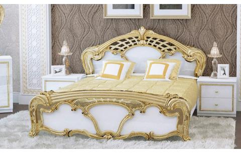 Кровать двуспальная Ева (без каркаса и матраса) MiroMark
