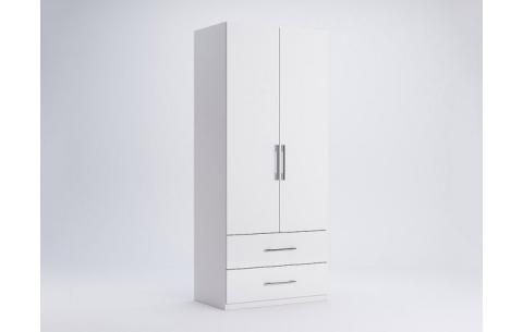 Шкаф Миромарк «Фемели 2д2ш» Глянец белый 210,4х89,6х54,6