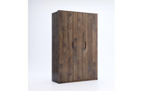 Шкаф распашной в спальню Квадро 3Д Миромарк