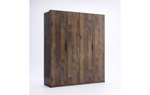 Шкаф распашной в спальню Квадро 4Д Миромарк