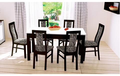 Комплект стол и стулья 4шт Виола Миромарк ДСП