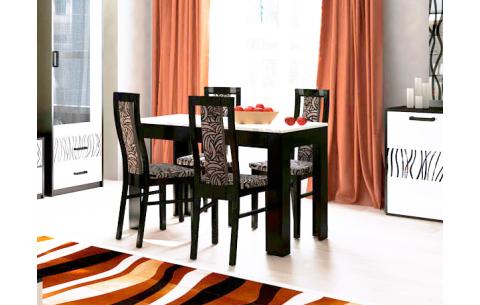 Комплект стол и стулья 4шт Терра Миромарк ДСП