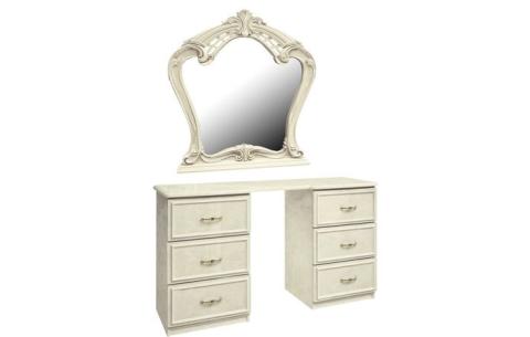 Столик туалетный с зеркалом Миромарк «Олимпия 6ш»
