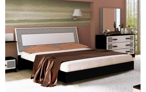 Кровать двуспальная Виола (без каркаса и матраса) MiroMark