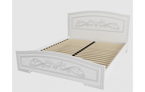 Кровать Анабель деревянный вклад Неман