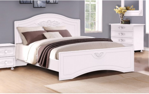 Кровать Анжелика деревянный вклад Неман