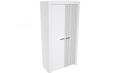 Шкаф Нордик 2-х дверный Неман