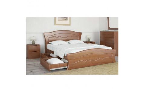 Кровать Виолетта с 4 ящиками Неман