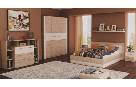 Спальня модульная Вирджиния Лайт Неман