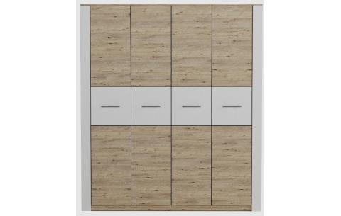 Шкаф Вирджиния Лайт 4-х дверный Неман