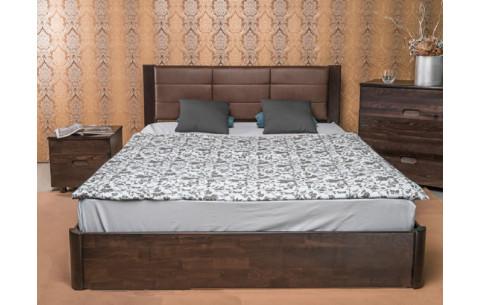 Деревянная кровать Катарина Премиум с механизмом Олимп