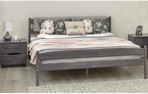 Деревянная кровать Лика мягкая спинка Олимп