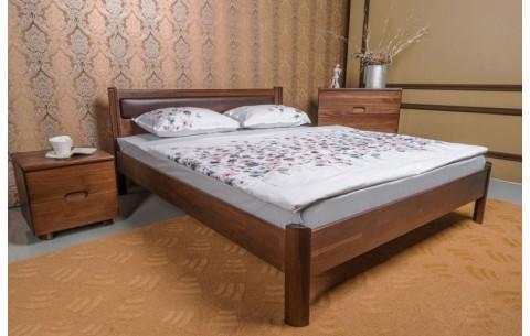 Деревянная кровать Марго мягкая без изножья Олимп