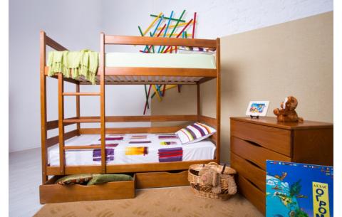 Двухъярусная деревянная кровать-трансформер  Амели Олимп