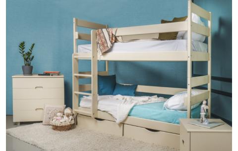 Двухъярусная деревянная кровать-трансформер  Ясна Олимп