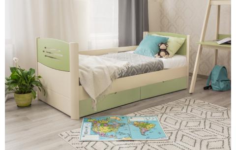 Детская односпальная кровать Марго Премиум Олимп