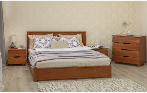 Деревянная кровать Ассоль с механизмом Олимп