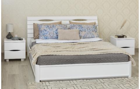 Деревянная кровать Марита N с механизмом Олимп