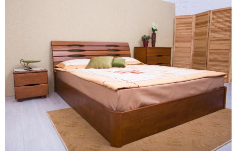 Деревянная кровать Марита V с механизмом Олимп