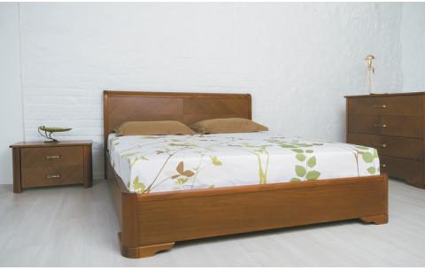 Деревянная кровать Милена Премиум с механизмом Олимп