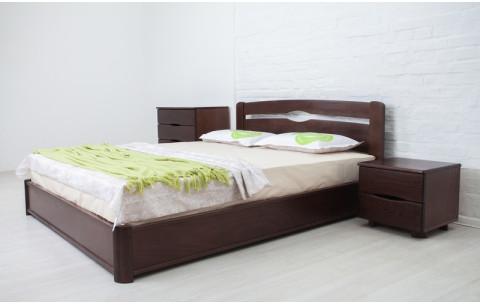Деревянная кровать Нова с механизмом Олимп