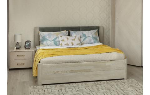 Деревянная кровать Катарина с ящиками Олимп