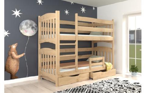 Двухъярусная деревянная кровать- трансформер Мелиса Luna